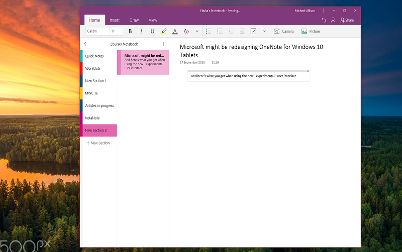 OneNote PM teases upcoming feature updates to OneNote 2
