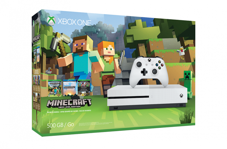 Microsoft launches Xbox One S Minecraft Bundle in Japan 22