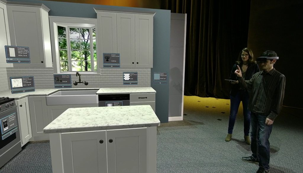Charmant Microsoft Partners With Loweu0027s To Bring AI And HoloLens Into Home Design