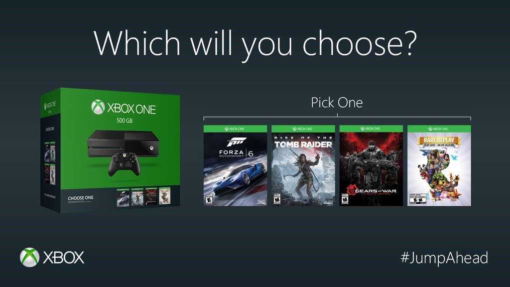 Deal Xbox One 500gb Name Your Game Bundle For 229 At