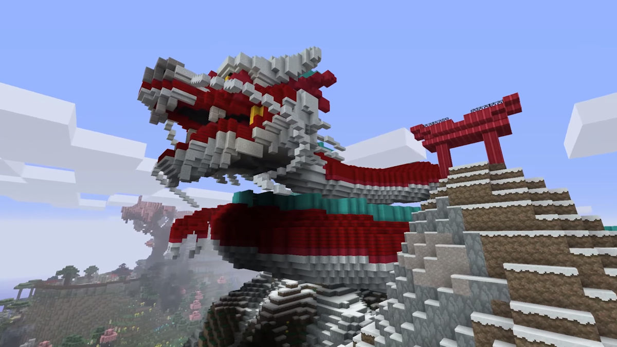 The Chinese Mythology Mash-Up Pack now available for Minecraft Pocket and Windows 10 Edition 1