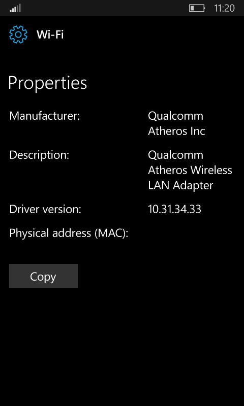 The next W10M Redstone 2 Insider built will bring a new WIFI settings page 2