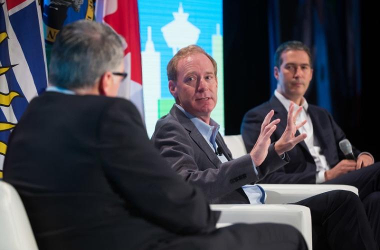 Microsoft President Brad Smith Talks About The Cascadia Innovation Corridor 5