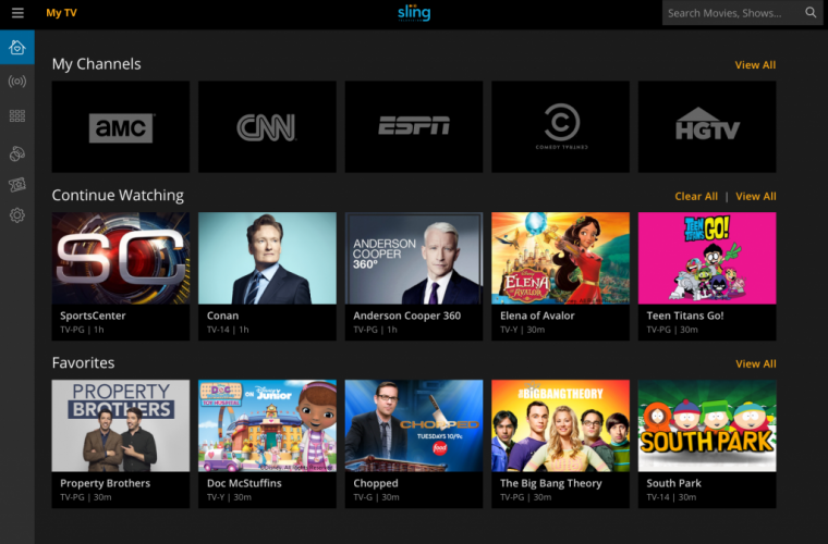 Sling TV to come pre-loaded on Windows 10 devices in the US 11