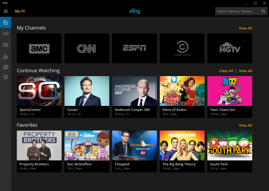 Sling TV releases its new Windows 10 app for PCs  MSPoweruser