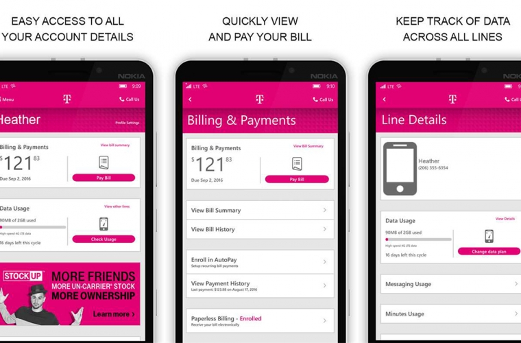 T-Mobile's new app for Windows phones arrives in the Store 1