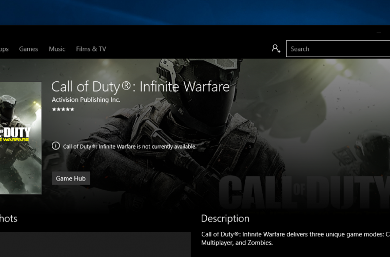 [Rumor] Call of Duty: Infinite Warfare and Modern Warfare could be coming to the Windows Store 12