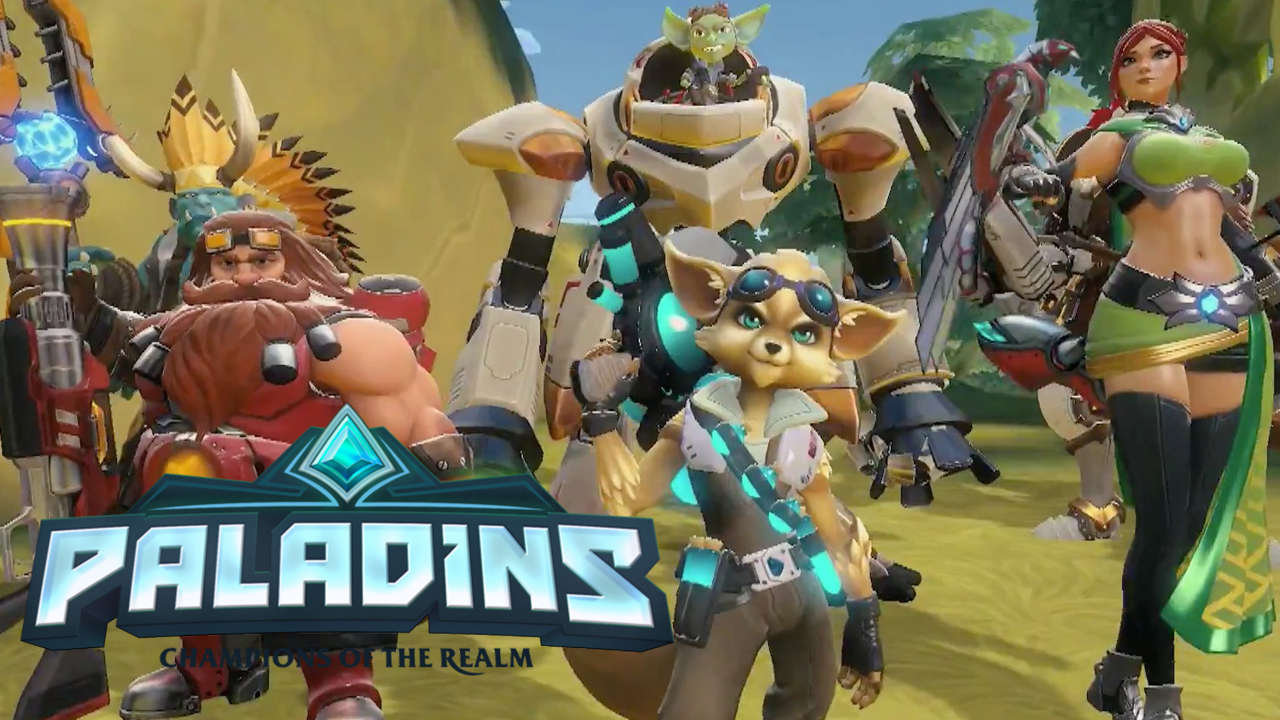 anders korting goede service Paladins: Champions of the Realm' Closed Beta now live for ...