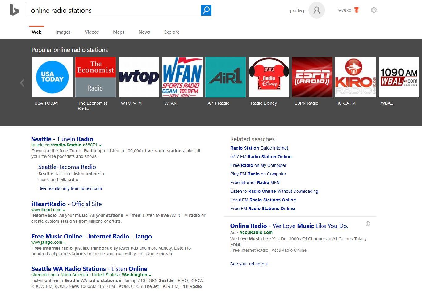bing-online-radio-stations