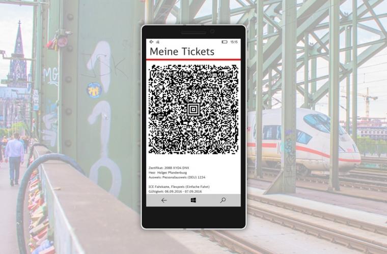Deutsche Bahn release DB Navigator for Windows Phone 15