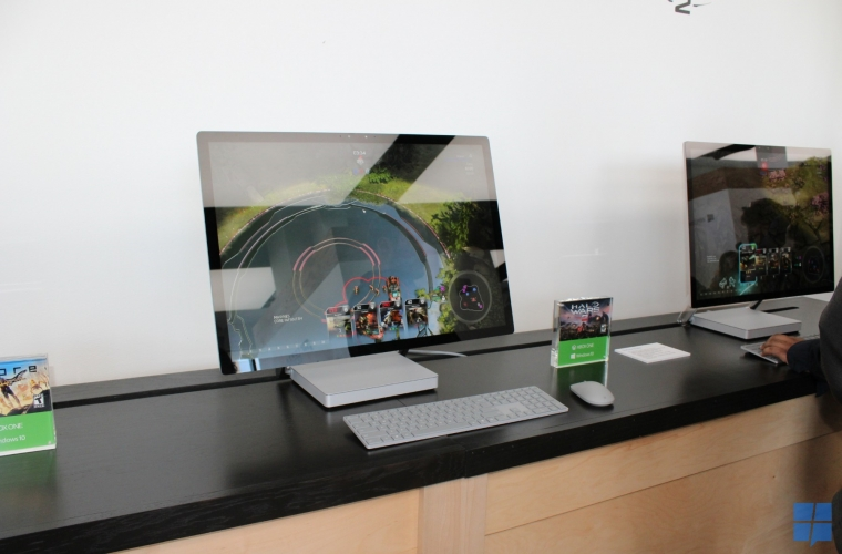 Up close with Microsoft's new Surface Studio, Book, and Dial 8