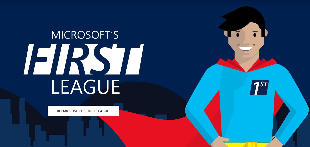 microsoft-first-league-program