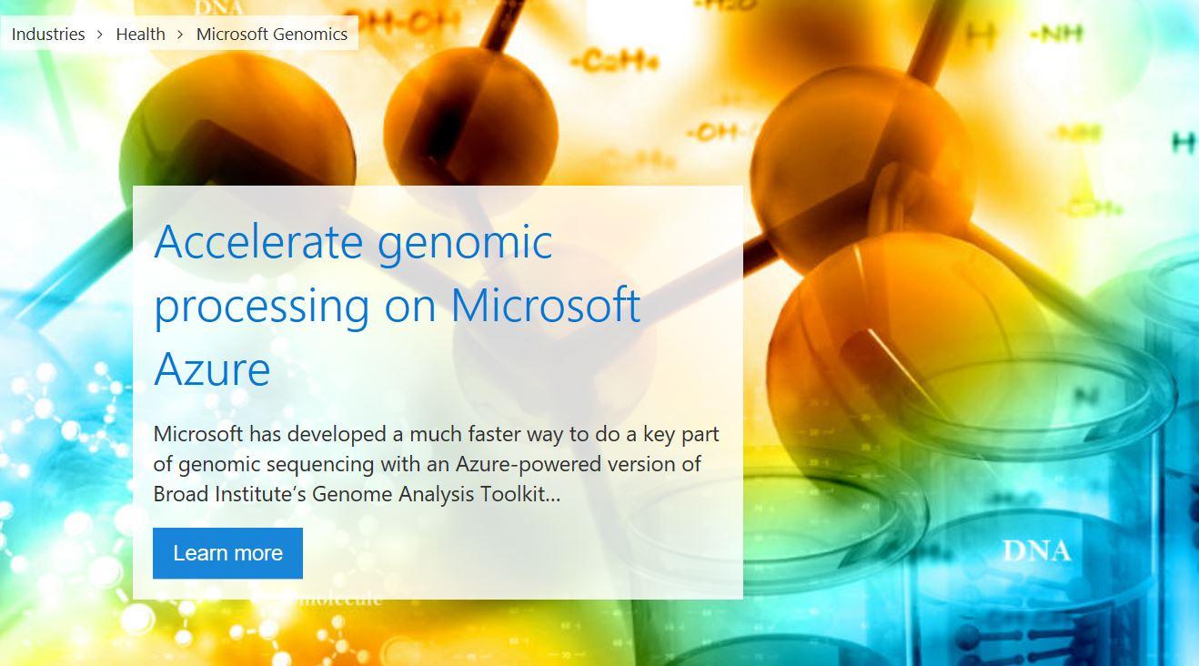 microsoft-genomics