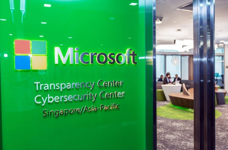 Microsoft launches its first combined Transparency Center and Cybersecurity Center in Singapore 1