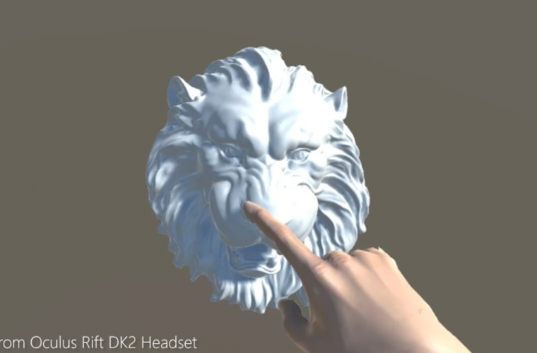 Microsoft Research demonstrate actuator which allow feeling virtual objects in 3D space 1