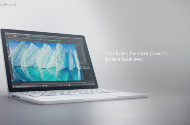 Here are the specs for the new Surface Book i7 5