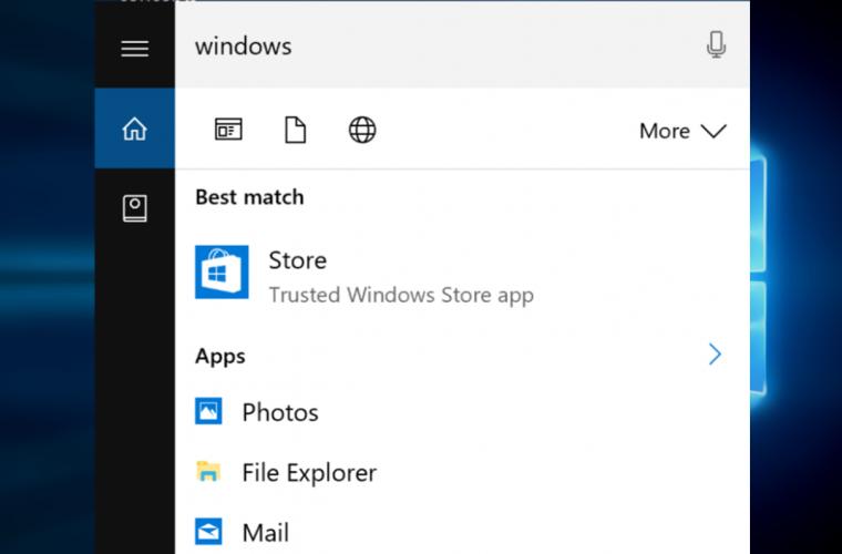 Microsoft seems to be testing improved Cortana UI for Windows 10 Redstone 2 2