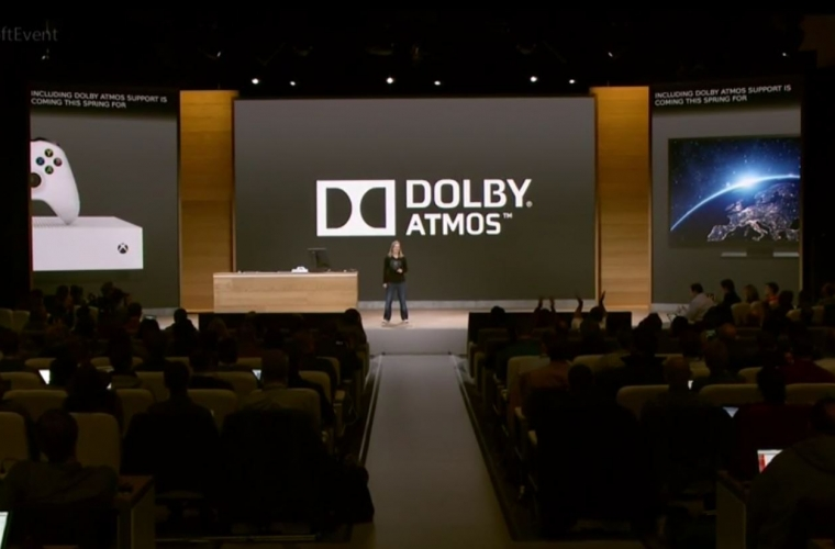 Dolby Atmos support rolling out Xbox One S Preview users this week. 1