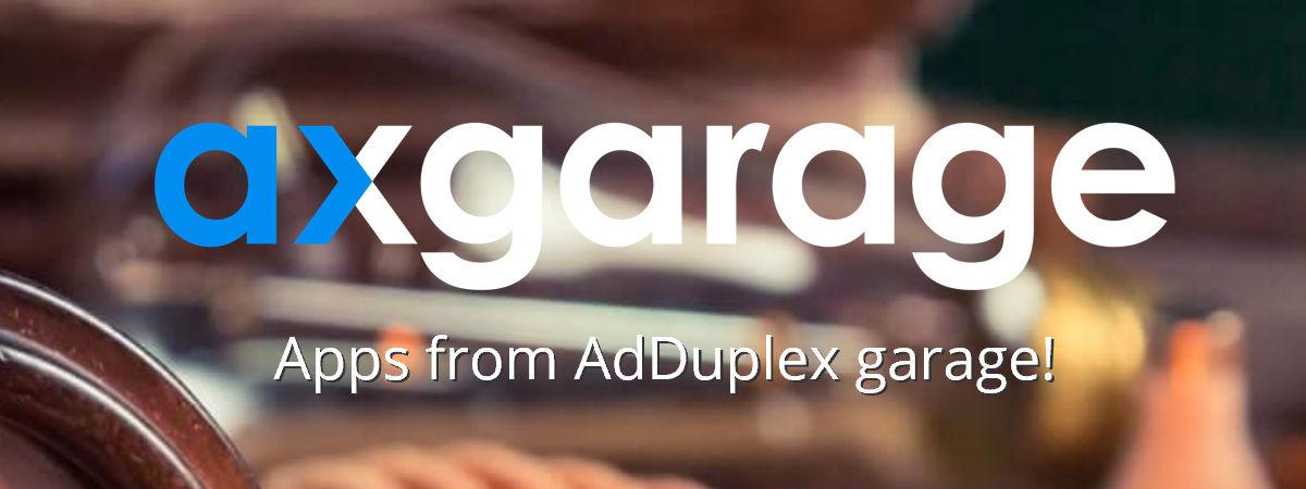 AdDuplex launch their own AxGarage with actual UWP apps - MSPoweruser
