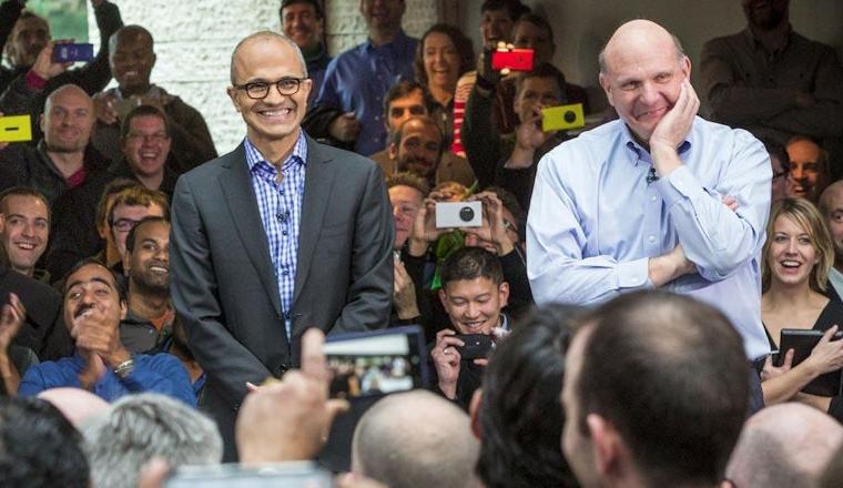 Microsoft employees prefer Nadella over Ballmer 3