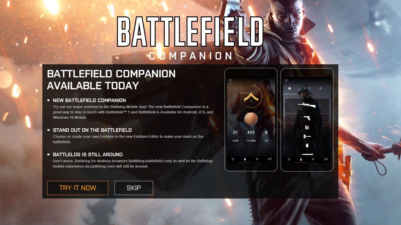 battlelog app windows phone