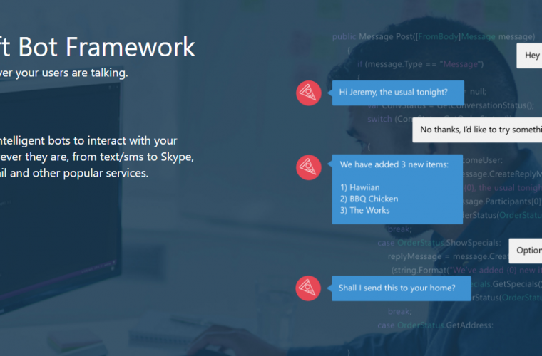 Microsoft's Bot Framework gets new Cognitive Services and Bing APIs 9