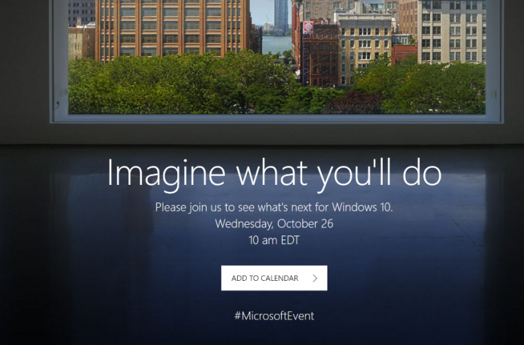 Microsoft announces October event, will possibly introduce the new Surface AIO 21