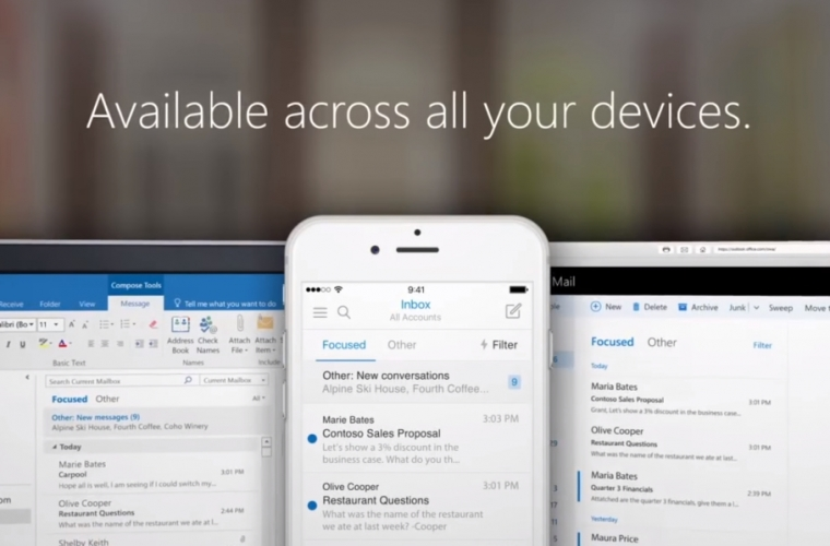Outlook's Focused Inbox coming to Windows 10 next month, rollout starts on the Web and Mac 20