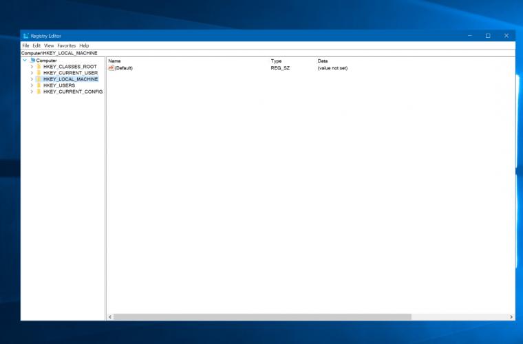 Windows 10's Registry Editor finally has an Address Bar 5