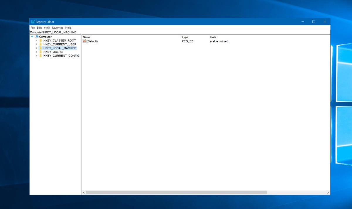 Windows 10's Registry Editor finally has an Address Bar - MSPoweruser