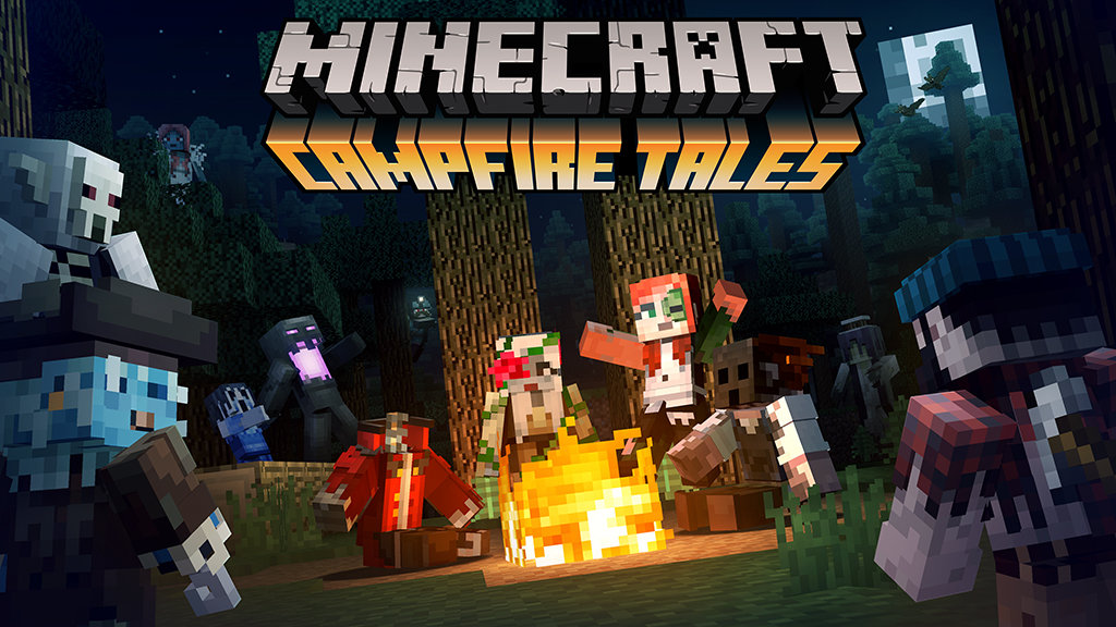 Campfire Tales Skin Pack Released For Minecraft Pocket And Windows - Skins para minecraft de pc