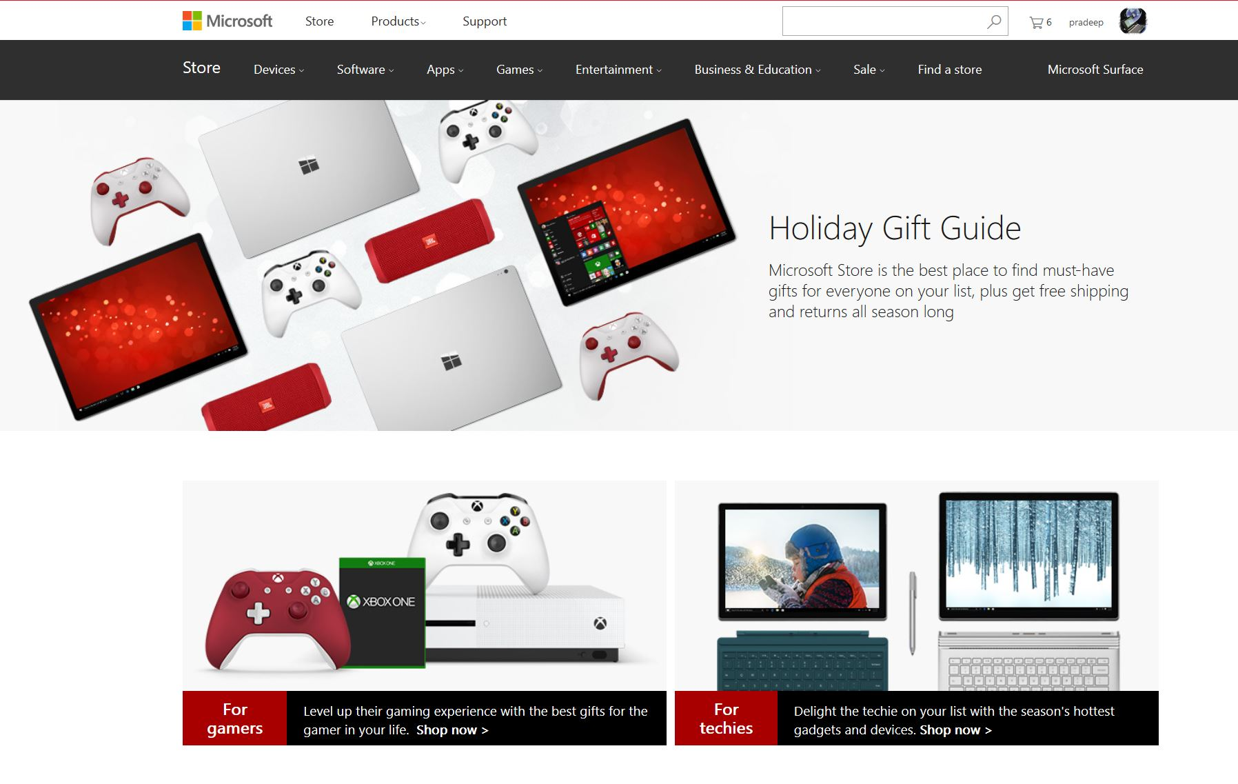microsoft store s 2016 holiday gift guide now available online