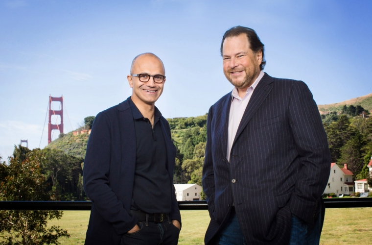 Salesforce wants antitrust enforcement agencies to 'be vigilant' with Microsoft 16