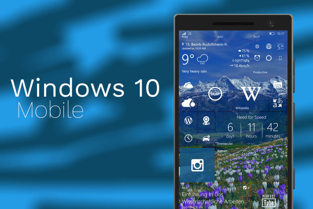 windows 10 mobile insider preview latest build 2018