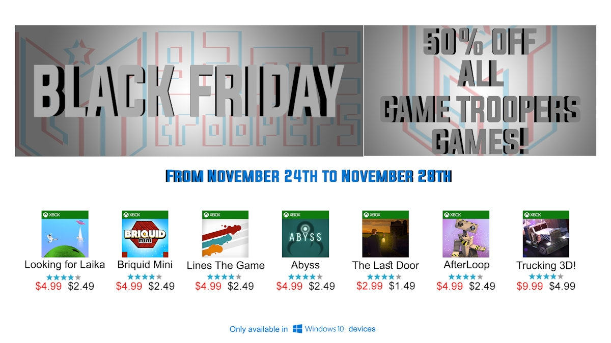 black-friday-game-trooper-sale