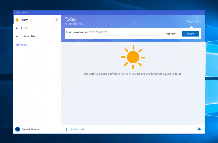Microsoft's Project Cheshire app now in private beta 17