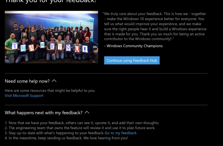 Microsoft updates the Feedback Hub with new features and improvements 1