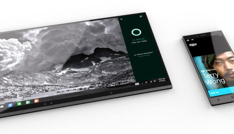 """Details of Dell's """"Stack"""" Windows 10 Mobile Intel device surface 15"""