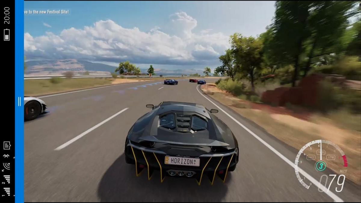 Claim: Xbox One game streaming to Windows 10 Mobile in beta testing (screen shot)