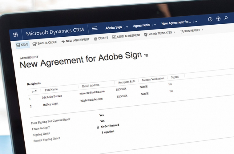 Adobe Sign brings integration for Microsoft Dynamics 365 14