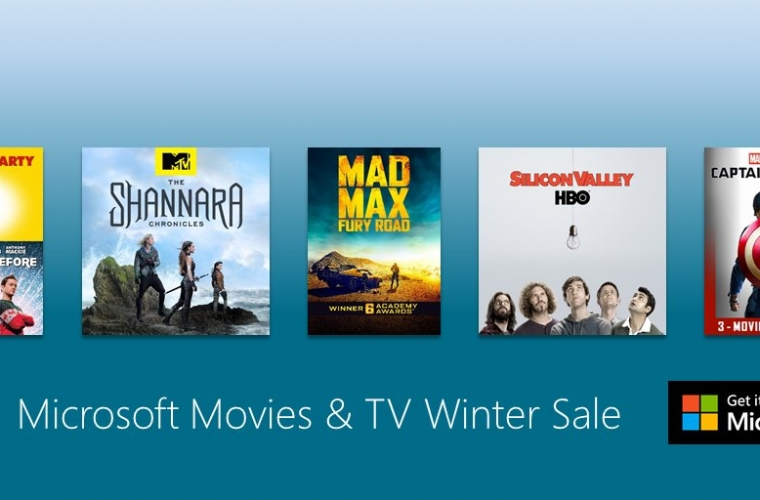 Save on hit movies and tv shows on Microsoft Movies & TV Winter Sale 2016 11