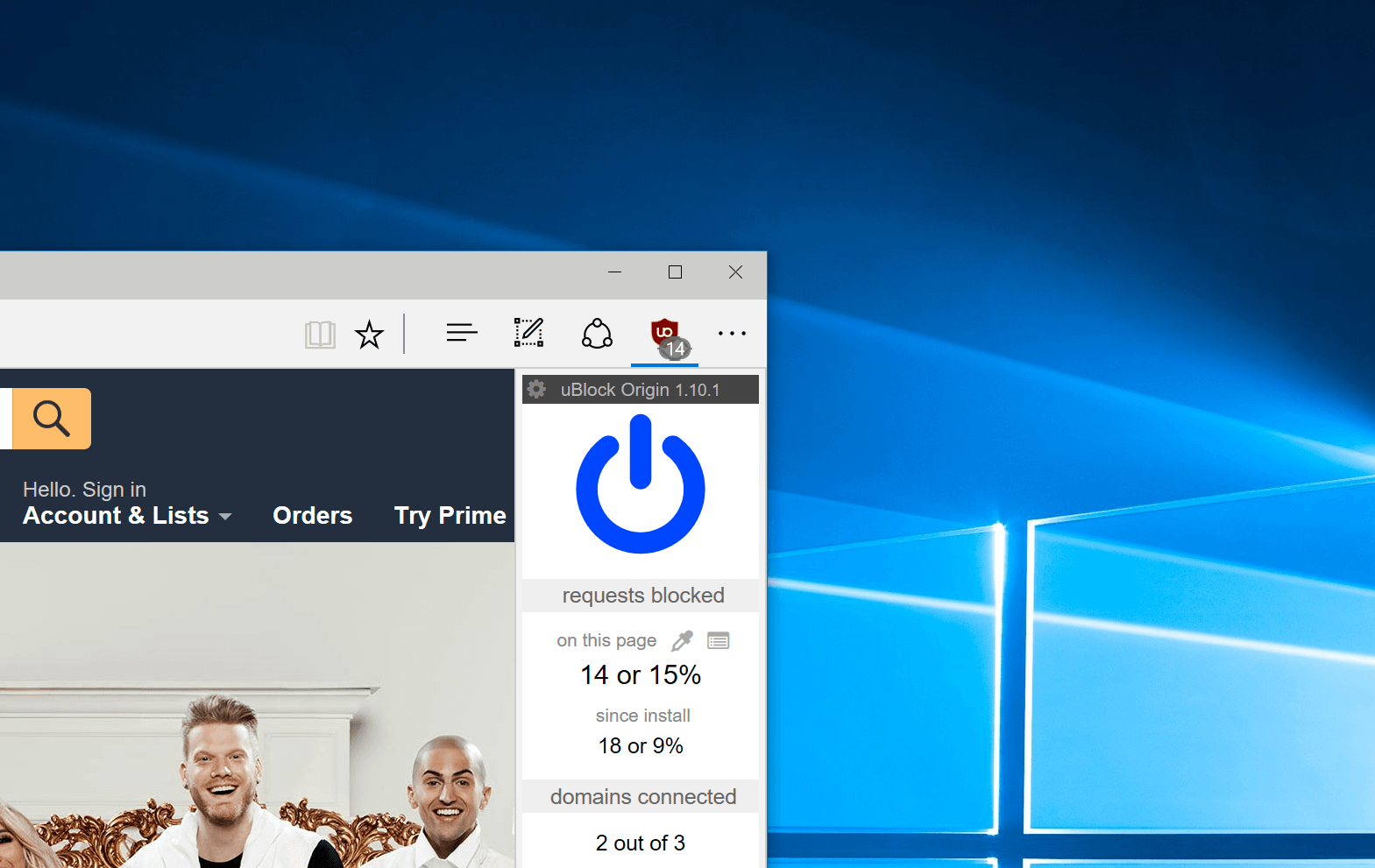 ublock origin finally comes to microsoft edge