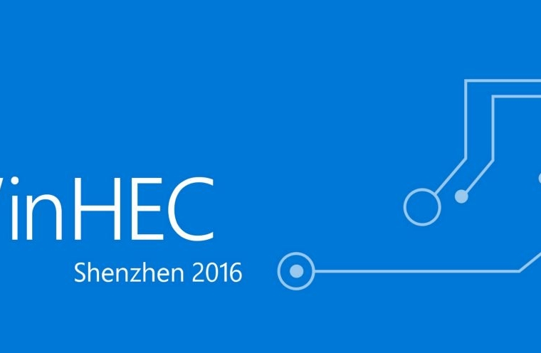 Watch Microsoft's WinHEC 2016 keynote here 6