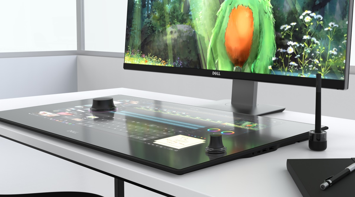 Dell Today Unveiled Its Take On Microsoft S Surface Studio And It Probably Not What You Expected To Be Is Taking The With A