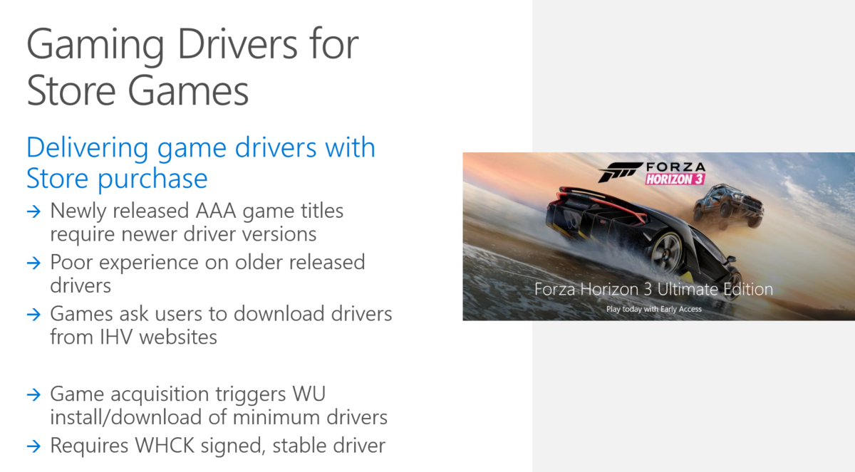 Microsoft will start bundling game drivers with games downloaded from the Windows Store 2