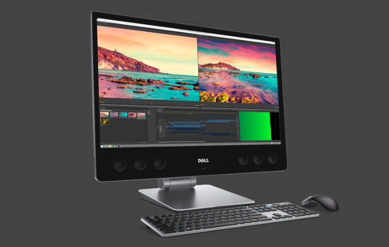 Dell Announces New Work Horse Precision All In One Thin