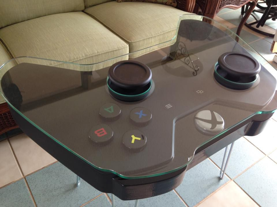 Er Woodcurve Is Now Ing A Coffee Table In The Shape Of Giant Xbox One Controller Designed By South Ina Artist Scott Blackwell