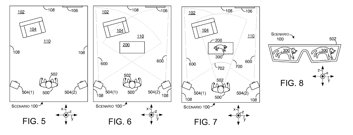 Microsoft patents Holodeck-style projection room (video) 2