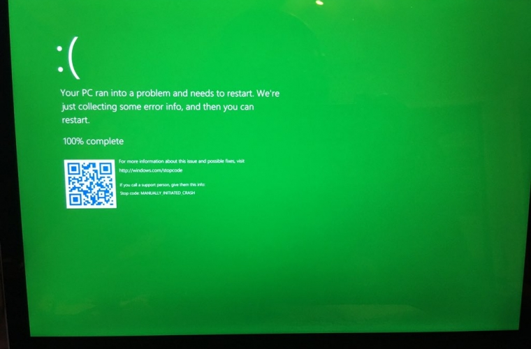 Windows 10's BSOD is getting replaced with a GSOD for Insider Preview releases 17