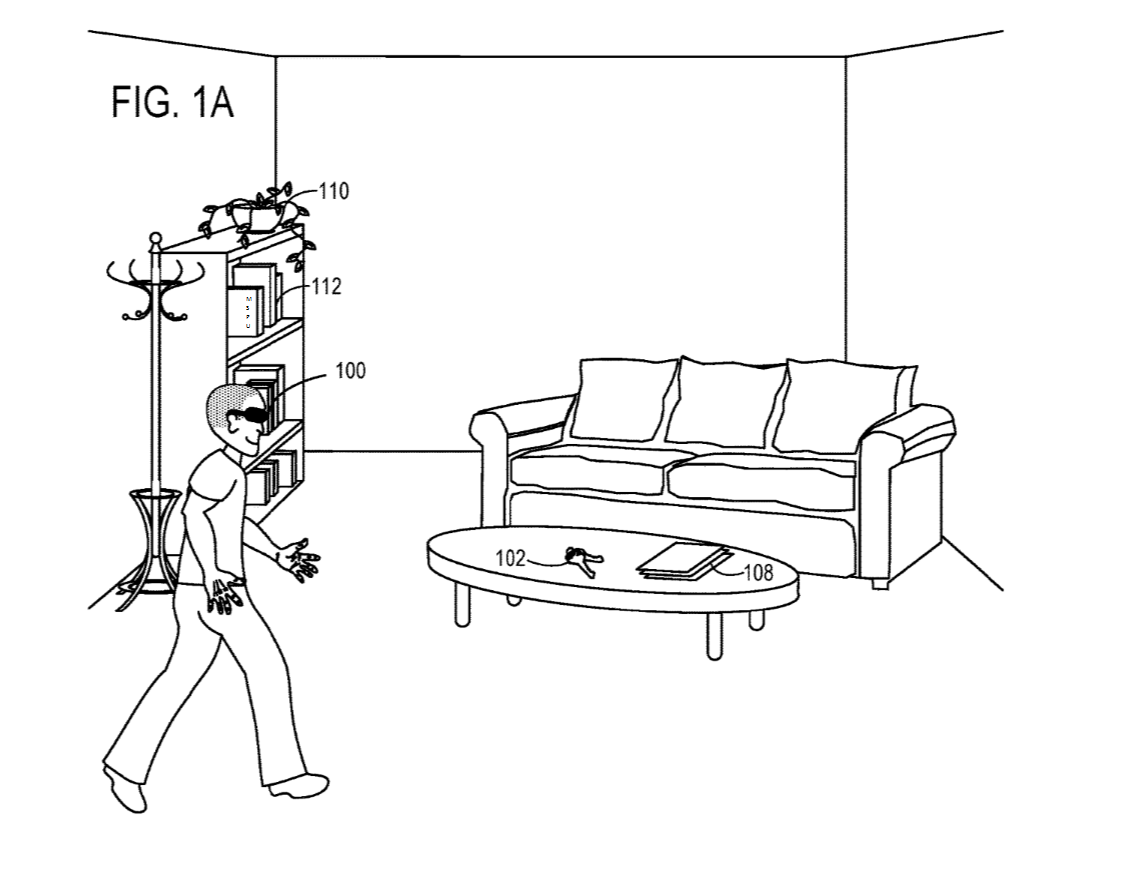 microsoft envisions a future where your hololens will help you find your lost keys  patent